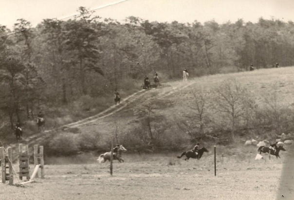 Norfolk Hunt at Woodsong Farm 1970
